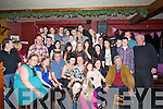 18th On Friday night music was aloud at Laura Lenihan's Basin View, Ardfert celebrated her 18th birthday in the Abbey Tavern Ardfert as her family and  friends and family.(Laura is seated  3rd from right):