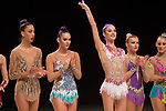 British Gymnastics Championship Series 2017<br /> Laura Halford<br /> Liverpool Echo Arena<br /> &copy;Steve Pope <br /> Sportingwales