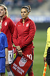CHESTER, PA - MARCH 01: Carlie Lloyd (USA). The United States Women's National Team played the Germany Women's National Team as part of the She Believes Cup on March 1, 2017, at Talen Engery Stadium in Chester, PA. The United States won the game 1-0.