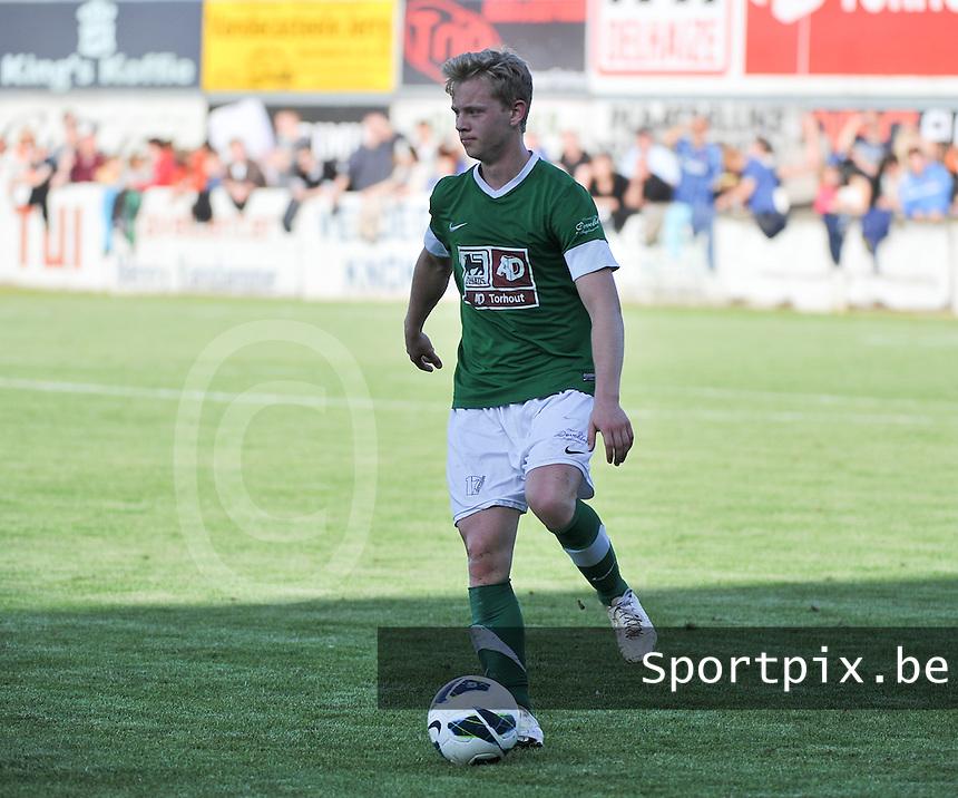 Torhout KM - Club Brugge KV : Rob Deleersnijder<br /> foto VDB / Bart Vandenbroucke