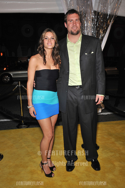 "Missy Peregrym & Ben Roethlisberger at the US premiere of ""Watchmen"" at Grauman's Chinese Theatre, Hollywood..March 2, 2009  Los Angeles, CA.Picture: Paul Smith / Featureflash"