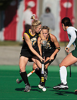 University of Iowa durint the Semi-Finals of the 2007 Big Ten Field Hockey Championships held at the Ohio State University