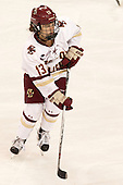 Haley McLean (BC - 13) - The Boston College Eagles defeated the visiting UConn Huskies 4-0 on Friday, October 30, 2015, at Kelley Rink in Conte Forum in Chestnut Hill, Massachusetts.
