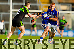 Johnny Buckley Kerry in action against  Stephen Coen Mayo in the first round of the National Football League at Fitzgerald Stadium Killarney on Sunday.