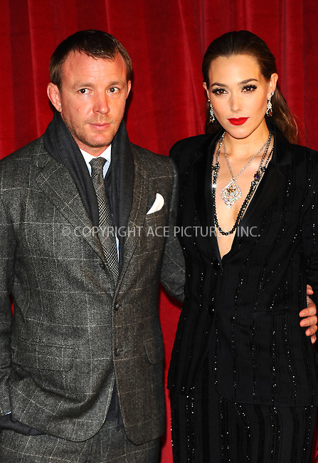 WWW.ACEPIXS.COM . . . . .  ..... . . . . US SALES ONLY . . . . .....December 8 2011, London....Guy Ritchie and Jacqui Ainsley at the premiere of 'Sherlock Holmes: A Game of Shadows' held at the Empire Leicester Square on December 8 2011 in London....Please byline: FAMOUS-ACE PICTURES... . . . .  ....Ace Pictures, Inc:  ..Tel: (212) 243-8787..e-mail: info@acepixs.com..web: http://www.acepixs.com