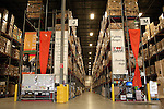 Food donations are stored and prepared for delivery inside the San Antonio Food Bank in San Antonio, Texas. October 2, 2012. Copyright Lance Rosenfield / Prime