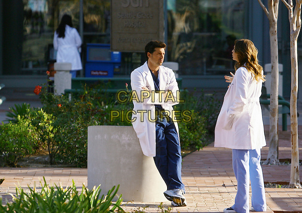 "PATRICK DEMPSEY, ELLEN POMPEO.in Grey's Anatomy, season 5 episode 21 ""Not Good at Saying Sorry (One More Chance)"" .*Filmstill - Editorial Use Only*.CAP/NFS.Supplied by Capital Pictures."