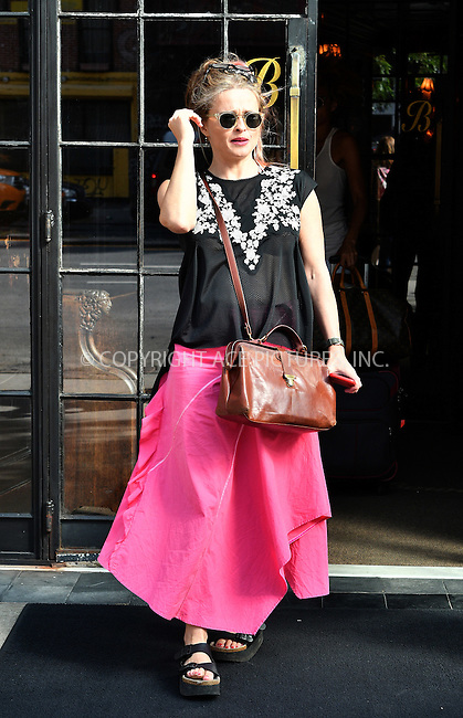 www.acepixs.com<br /> <br /> September 21 2016, New York City<br /> <br /> Actress Helena Bonham Carter leaves a downtown hotel and jumps in a taxi on September 21 2016 in New York City<br /> <br /> By Line: Curtis Means/ACE Pictures<br /> <br /> <br /> ACE Pictures Inc<br /> Tel: 6467670430<br /> Email: info@acepixs.com<br /> www.acepixs.com