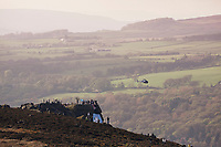Picture by SWpix.com - 04/05/2018 - Cycling - 2018 Tour de Yorkshire - Stage 2: Barnsley to Ilkley - Yorkshire, England - Fans and spectators at the top of the Cote de Cow and Calf.