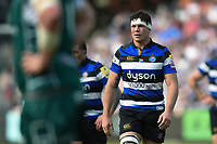 Francois Louw of Bath Rugby looks on during a break in play. Aviva Premiership match, between Bath Rugby and London Irish on May 5, 2018 at the Recreation Ground in Bath, England. Photo by: Patrick Khachfe / Onside Images