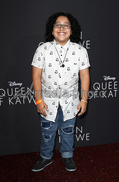 "20 September 2016 - Hollywood, California - Nathan Arenas. ""Queen Of Katwe"" Los Angeles Premiere held at the El Capitan Theater in Hollywood. Photo Credit: AdMedia"