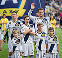 CARSON, CA - December 1, 2012: LA Galaxy vs the Houston Dynamo for the 2012 MLS Cup at the Home Depot Center in Carson, California. Final score LA Galaxy 3, Houston Dynamo 1.
