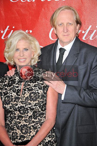 Callie Khouri and T Bone Burnett<br />