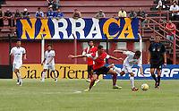 GUARULHOS, SP, 08 JANEIRO 2011 - COPA SAO PAULO DE FUTEBOL JUNIOR 2012 - <br /> Lance da partida entre as equipes do Flamengo-SP x Nacional -AM realizada no Est&aacute;dio Municipal Ant&ocirc;nio Soares de Oliveira Guarulhos (SP), v&aacute;lida pela 2&ordf; Rodada do Grupo X da Copa S&atilde;o Paulo de Futebol Junior 2012, neste domingo (08). (FOTO: ALE VIANNA - NEWS FREE).