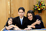 Temple Beth El - Family Bar Mitzvah photography, candle lighting