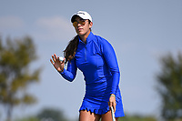 Maria Fassi (MEX) sinks her birdie putt on 18 during the round 2 of the Volunteers of America Texas Classic, the Old American Golf Club, The Colony, Texas, USA. 10/4/2019.<br /> Picture: Golffile | Ken Murray<br /> <br /> <br /> All photo usage must carry mandatory copyright credit (© Golffile | Ken Murray)