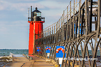 64795-02603 South Haven Lighthouse early morning South Haven,  MI