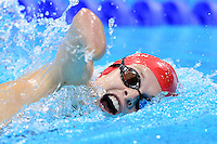 PICTURE BY ALEX BROADWAY /SWPIX.COM - 2012 London Paralympic Games - Day Nine - Swimming, Aquatic Centre, Olympic Park, London, England - 07/09/12 - Lauren Steadman of Great Britain competes it the Women's 100m Freestyle S9 Heats.