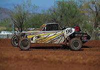 Apr 16, 2011; Surprise, AZ USA; LOORRS driver Doug Fortin (96) during round 3 at Speedworld Off Road Park. Mandatory Credit: Mark J. Rebilas-.