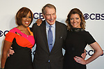 Left to right Gayle King, Charlie Rose and Nora O'Donnell arrive at the CBS Upfront at The Plaza Hotel in New York City on May 17, 2017.