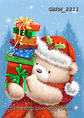 Roger, CHRISTMAS ANIMALS, WEIHNACHTEN TIERE, NAVIDAD ANIMALES, paintings+++++,GBRM2211,#xa#