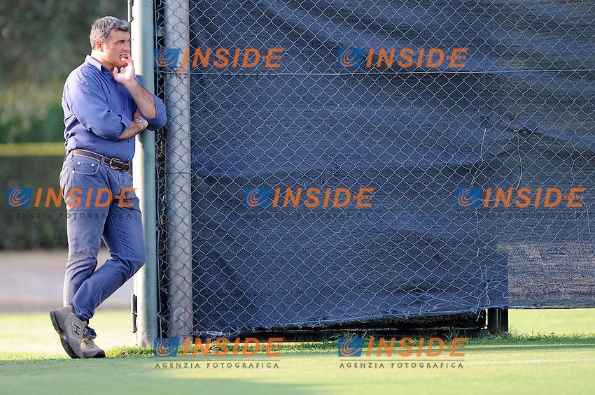 Angelo Peruzzi osserva l'allenamento<br /> 26-07-2016 Roma<br /> Allenamento Lazio a Formello<br /> SS Lazio traning day<br /> @ Marco Rosi / Fotonotizia / Insidefoto