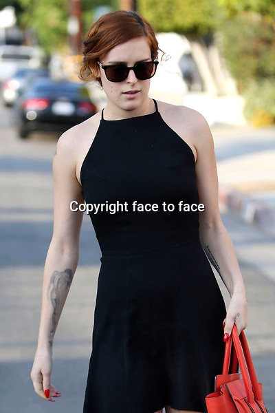Rumer Willis spotted in Hollywood, 24.10.2013<br />