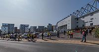Norwich City Stadium - Outside Ground View + Fans<br /> <br /> Photographer David Horton/CameraSport<br /> <br /> The EFL Sky Bet Championship - Norwich City v Preston North End - Saturday 19th September 2020 - Carrow Road - Norwich<br /> <br /> World Copyright © 2020 CameraSport. All rights reserved. 43 Linden Ave. Countesthorpe. Leicester. England. LE8 5PG - Tel: +44 (0) 116 277 4147 - admin@camerasport.com - www.camerasport.com