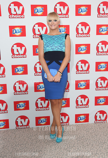 Katie McGlynn arriving at The TV Choice Awards 2013 held at the Dorchester, London. 09/09/2013 Picture by: Henry Harris / Featureflash