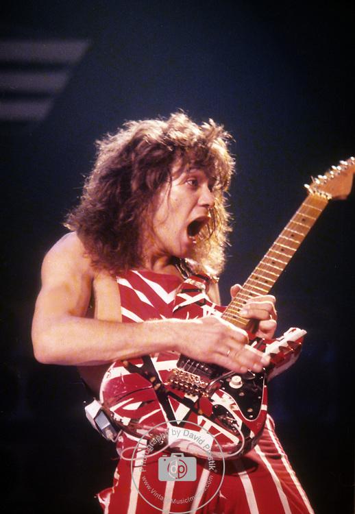 Eddie Van Halen 1981