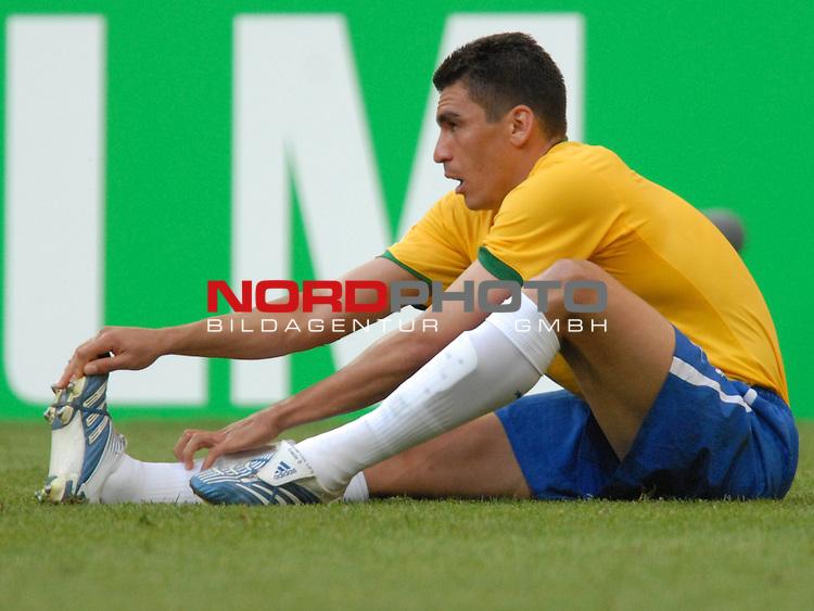FIFA WM 2006 -  Gruppe F Vorrunde ( Group F )<br /> Play    #27 (18-Jun) - Brazil vs Australia<br /> <br /> Lucio (BRA)<br /> <br /> Foto &copy; nordphoto
