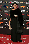 Elvira Minguez attends 30th Goya Awards red carpet in Madrid, Spain. February 06, 2016. (ALTERPHOTOS/Victor Blanco)