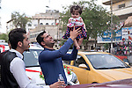 Mcc0070043 . Daily Telegraph<br /> <br /> DT News<br /> <br /> Iraqi's on Karada street in central Baghdad, a middle class neighbourhood which is predominantly Shia with a dwindling Christian population due to sectarean violence .<br /> <br /> Baghdad 13 May 2016