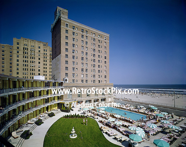 Deauville Hotel Atlantic City Nj Pool Courtyard With