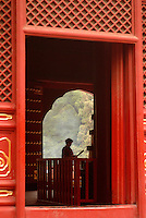 "The Buddhist Lama Temple in Beijing is also known as ""Yonghegong"" or the ""Palace of Peace and Harmony."" Built as a princely palace in1694, it is comprised of five large halls, courtyards, and beautiful decorative archways. A later emperor converted the palace into a lamasery for monks from Mongolia and Tibet.."