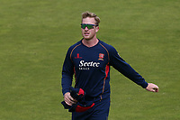 Simon Harmer of Essex ahead of Lancashire CCC vs Essex CCC, Specsavers County Championship Division 1 Cricket at Emirates Old Trafford on 9th June 2018