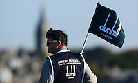 A Caddie looks on during Round 2 of the 2015 Alfred Dunhill Links Championship at the Old Course, St Andrews, in Fife, Scotland on 2/10/15.<br /> Picture: Richard Martin-Roberts | Golffile