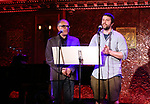 David Yazbek and Itamar Moses  attends 2017 New York Drama Critics' Circle Awards Reception at Feinstein's/54 Below on May 18, 2017 in New York City.