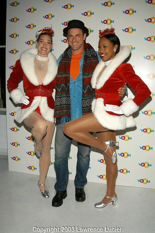 Christopher Meloni and the Rockettes