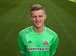 Jake Eastwood of Sheffield Utd during the 2016/17 Photo call at Bramall Lane Stadium, Sheffield. Picture date: September 8th, 2016. Pic Simon Bellis/Sportimage