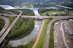 Lycoming Creek flows into the West Brach of the Susquehanna River in Williamsport, PA