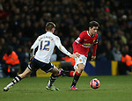 Manchester United's Ander Herrera in action<br /> <br /> FA Cup - Preston North End vs Manchester United  - Deepdale - England - 16th February 2015 - Picture David Klein/Sportimage