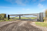 Heavy duty farm gate - Lincolnshire, November