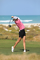 Tonje Daffinrud (NOR) during the second round of the Fatima Bint Mubarak Ladies Open played at Saadiyat Beach Golf Club, Abu Dhabi, UAE. 11/01/2019<br /> Picture: Golffile | Phil Inglis<br /> <br /> All photo usage must carry mandatory copyright credit (© Golffile | Phil Inglis)