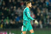 GRONINGEN - Voetbal, FC Groningen - PSV,  Eredivisie , Noordlease stadion, seizoen 2017-2018, 13-12-2017,   PSV doelman Jeroen Zoet baalt na de 3-3