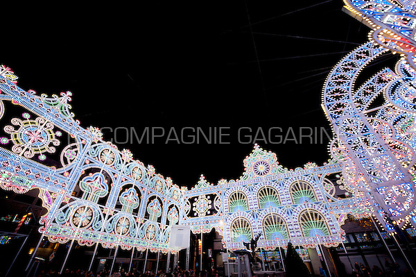 The Il Giardino Incantato installation from Luminarie De Cagna at the Glow Lightfestival in Eindhoven (Holland, 11/11/2015)