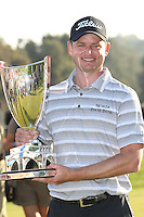 02/17/13 Pacific Palisades, CA: John Merrick wins the Northern Trust open on the second playoff hole.