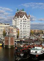 Rotterdam- Het Witte Huis bij de Wijnhaven