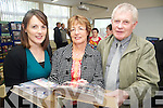 Looking through some photos at the 50th anniversary celebrations of Knocknagree National School on Sunday were Fiona Hurley with Anna and Neily Mahony...PR SHOT.. NO REPRODUCTION FEE...............
