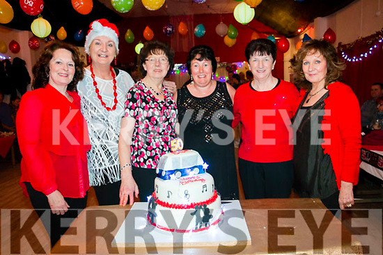 Eileen O'Shea's 50th birthday in the Lake House Tuosist. Left to right Maureen O'Sullivan, Maura Landers, Eileen Brosnan, Eileen O'Shea (birthday girl), Eileen Healy, Ann Healy.